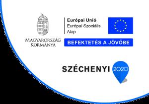 Szechenyi 2020 Szociális alap logó